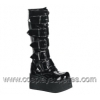 TRASHVILLE-518 Black Patent